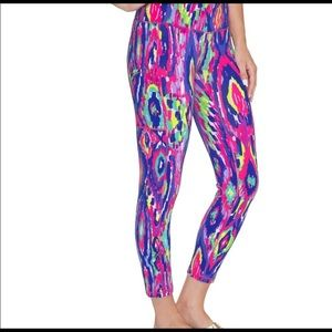Lilly Pulitzer luminescent luxletic pants xs